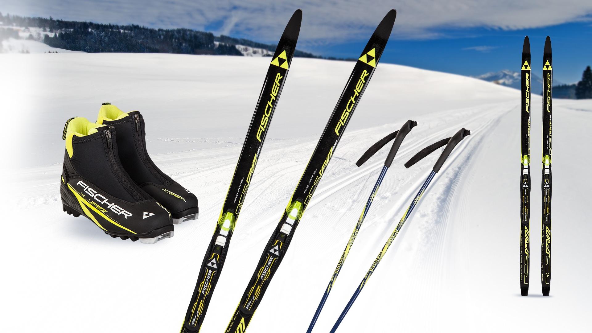 Juniorski zestaw do narciarstwa biegowego