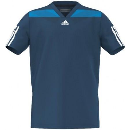 B BARR SEMIFIT – Koszulka tenisowa dziecięca - adidas B BARR SEMIFIT