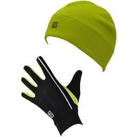Rucanor SET LOAN A VINES - Komplet rękawiczek i czapki
