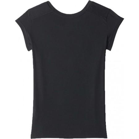 Damska koszulka sportowa z krótkim rękawem - adidas ESS THETEE - 2