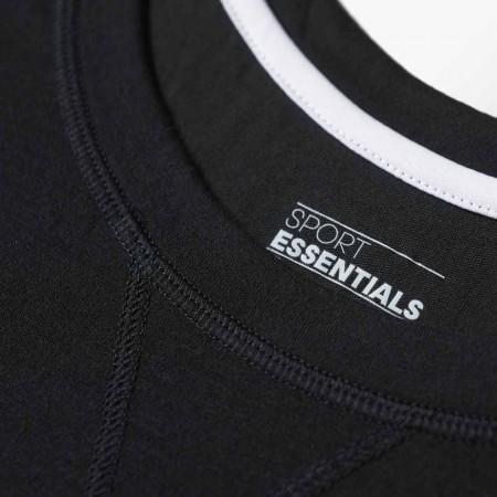 Damska koszulka sportowa z krótkim rękawem - adidas ESS THETEE - 3