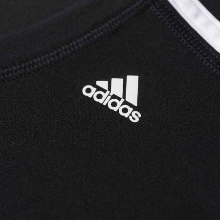 Damska koszulka sportowa z krótkim rękawem - adidas ESS THETEE - 4