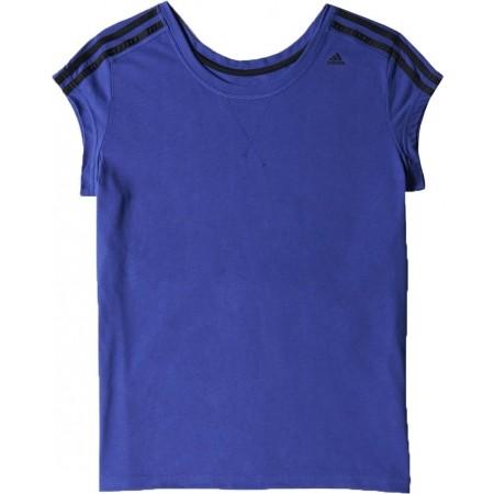 Damska koszulka sportowa z krótkim rękawem - adidas ESS THETEE - 6