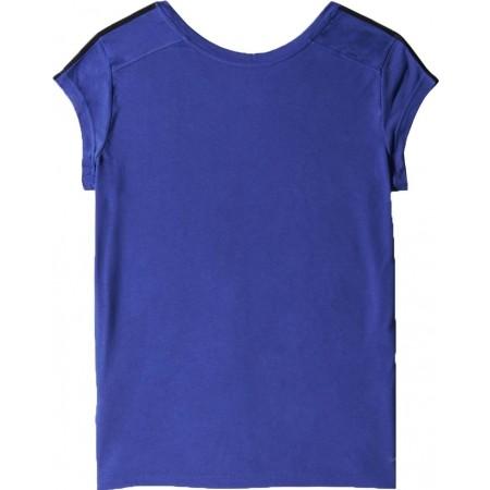 Damska koszulka sportowa z krótkim rękawem - adidas ESS THETEE - 7