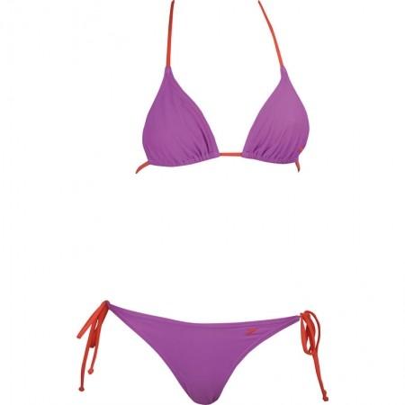 Strój kąpielowy dwuczęściowy damski - Speedo 2PIECE TAPER TRIANGLE MEDIUM LEG