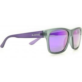 Blizzard Rubber black trans Polarized - Okulary przeciwsłoneczne