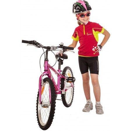 Spodenki rowerowe dziecięce - Klimatex HOBIT - 4