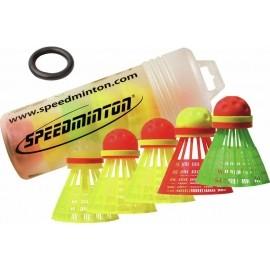 Speedminton SPEEDERTUBE MIXPACK 5 PC