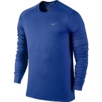 Nike DRI-FIT MILLER LS - Koszulka do biegania męska