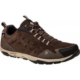 Columbia CONSPIRACY RAZOR LEATHER PULL M - Obuwie trekkingowe męskie