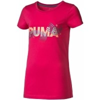 Puma FUN IND BLING GRAPHIC TEE