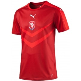 Puma CZECH REPUBLIC HOME REPLICA B2B SHIRT CHILI