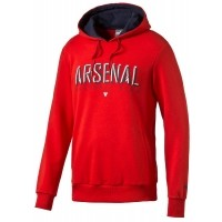 Puma ARSENAL FAN HOODY - Bluza męska