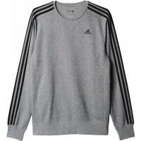 adidas ESS 3S CREW FT - Bluza męska