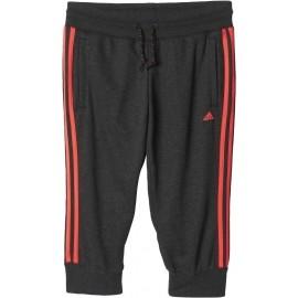 adidas ESSENTIALS 3S 3/4 PANT - Spodnie damskie 3/4 - adidas
