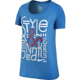 Nike TEE BF STYLE SNEAKERS - Koszulka damska