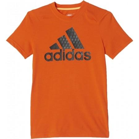 Koszulka chłopięca - adidas PRIME LOGO TEE - 1