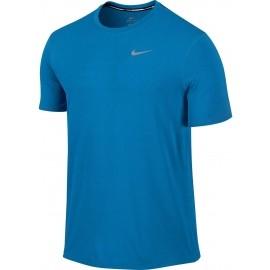 Nike CONTOUR BLUE - Męska koszulka sportowa