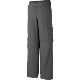 Columbia SILVER RIDGE III CONVERTIBLE PANT - Spodnie sportowe chłopięce
