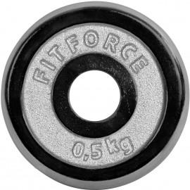 Fitforce OBCIAZENIE 0,5KG CHROM