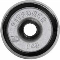 Fitforce OBCIAZENIE 1KG CHROM
