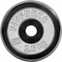 Fitforce OBCIAZENIE 2,5KG CHROM