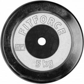 Fitforce OBCIAZENIE 5KG CHROM - Obciążenie