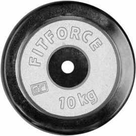 Fitforce OBCIAZENIE 10KG CHROM