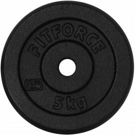 Fitforce OBCIAZENIE 5KG CZARNA - Obciążenie