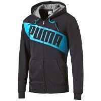 Puma FUN BIG LOGO HOODED - Bluza męska