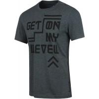 Reebok GET ON MY LEVEL GRAPHIC TEE - Koszulka męska
