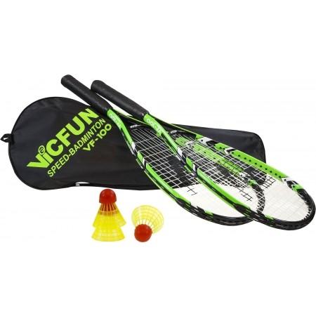 Zestaw do speedmintona - Victor VF 100 - 1