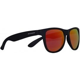 Blizzard RUBBER BLACK POL - Okulary przeciwsłoneczne polaryzacyjne