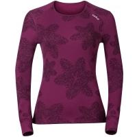 Odlo WARM EFFECT PRINTED TEE - Koszulka termoaktywna damska