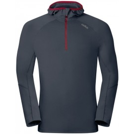 Odlo SILLIAN HOODY MIDLAYER 1/2ZIP