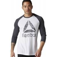 Reebok BRANDMARK CAMO FOIL TEE - Koszulka męska
