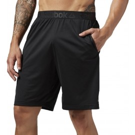 Reebok WORKOUT READY STACKED LOGO SHORT - Spodenki męskie