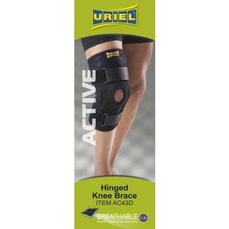 AC43D – Stabilizator kolana z podparciem rzepki - Uriel AC43D