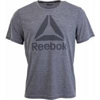Reebok WORKOUT READY BIG LOGO SUPREMIUM TEE - Koszulka męska