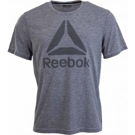 Reebok WORKOUT READY BIG LOGO SUPREMIUM TEE - Koszulka męska