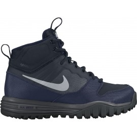 Nike DUAL FUSION HILLS MID (GS) - Obuwie outdoorowe chłopięce