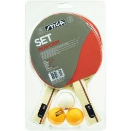 Stiga PERFORM SET - Zestaw do gry w tenisa stołowego