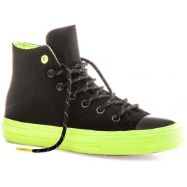 Converse CHUCK TAYLOR ALL STAR II SHIELD CANVAS Black/Volt/Gum