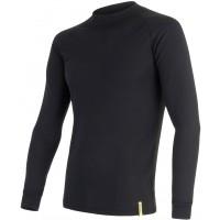 Sensor BLACK ACTIVE DR M - Koszulka termoaktywna męska