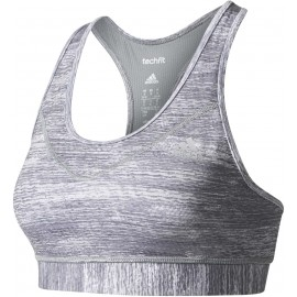 adidas TECHFIT BRA NEW PRINTED HEATHER