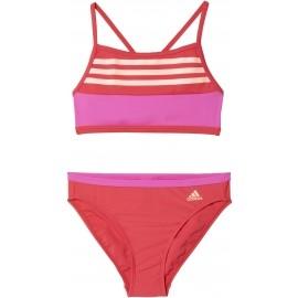 adidas BY 3S CB BIKINI - Strój kąpielowy dwuczęściowy dziewczęcy