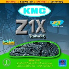 KMC ŁAŃCUCH Z1X EPT NIERDZEWNY
