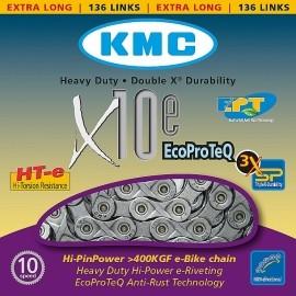 KMC ŁAŃCUCH X10E EPT NIERDZ.
