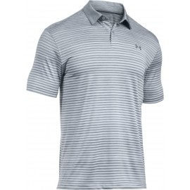 Under Armour TRAJECTORY STRIPE POLO - Koszulka męska