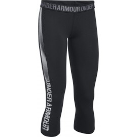 Under Armour FAVORITE CAPRI - GRAPHIC - Legginsy damskie